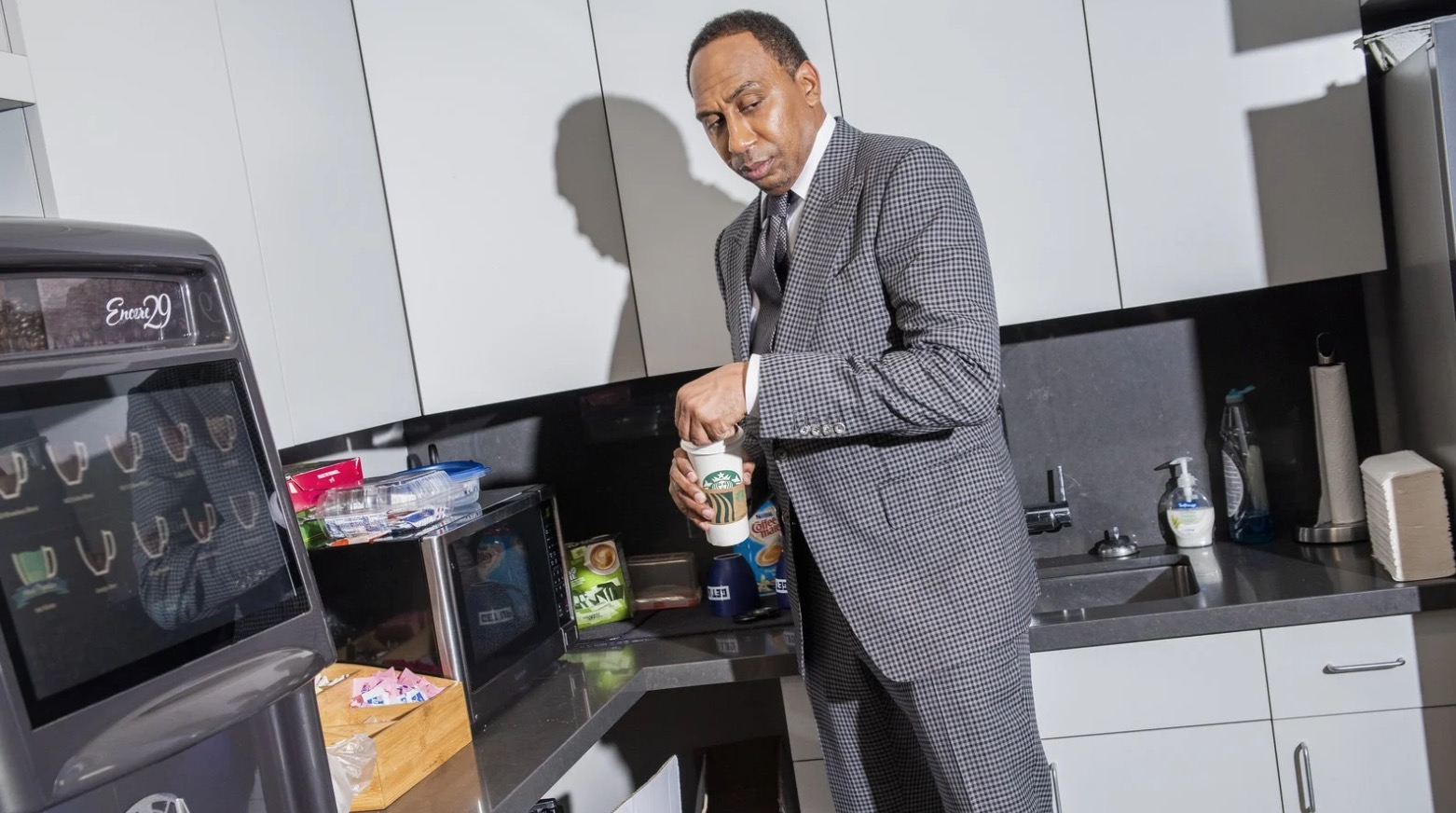 Stephen A. Smith Is Never Satisfied