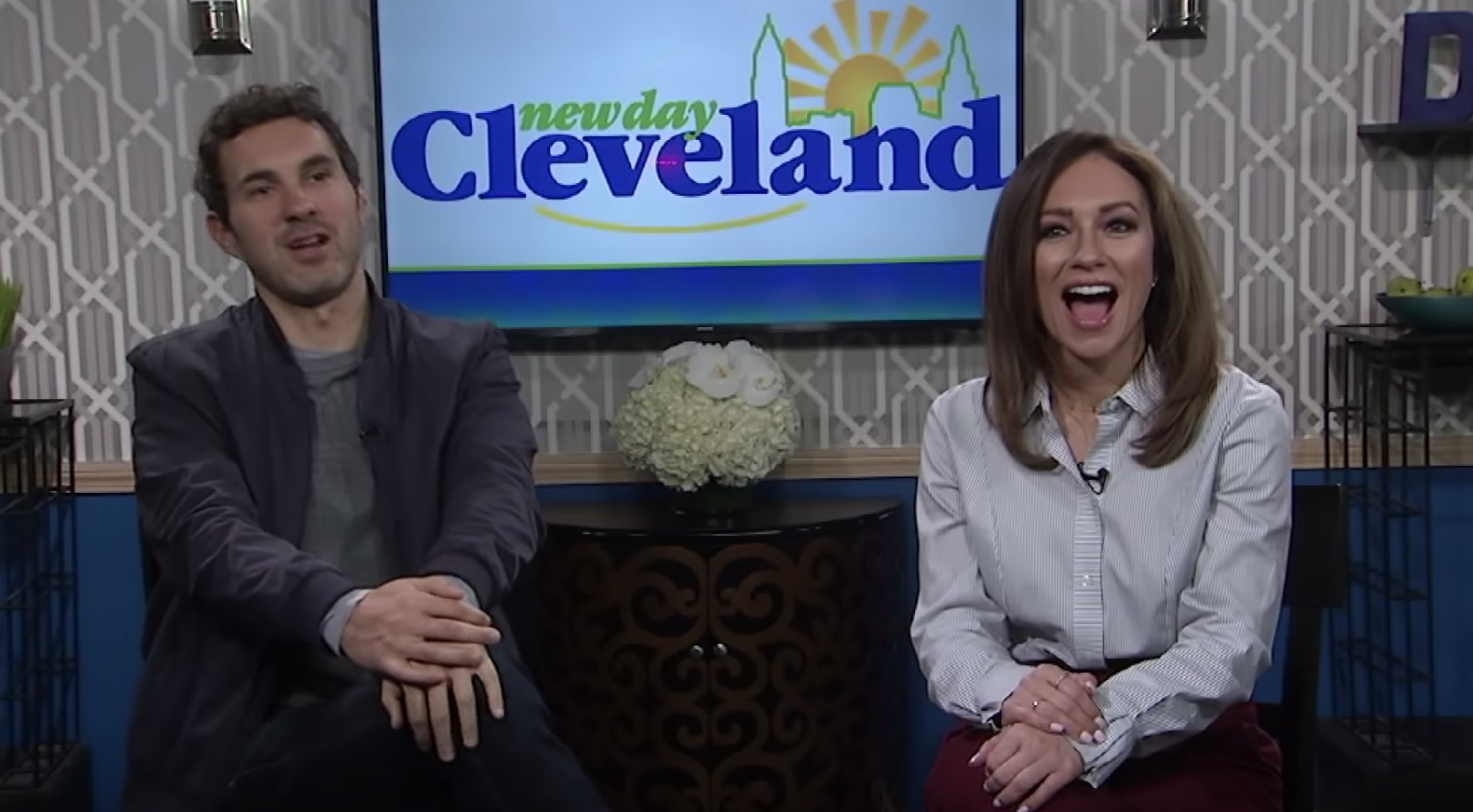 'New Day Cleveland' Had A Comedian On For A Segment, And Hoo Boy, It Got Weird