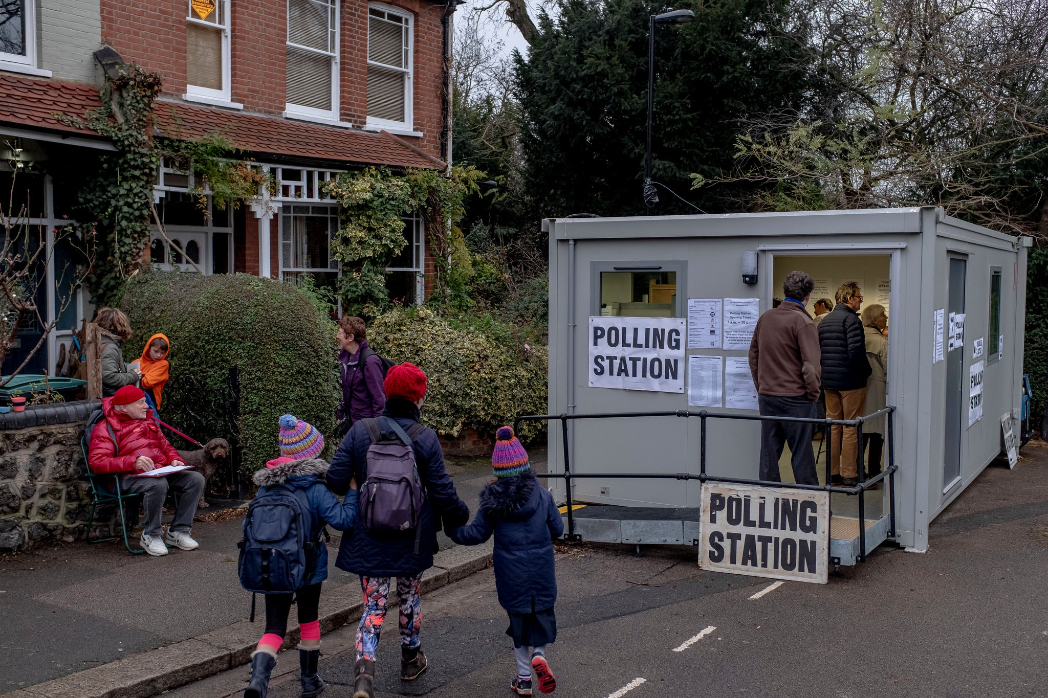 Live Updates On UK Votes In General Election