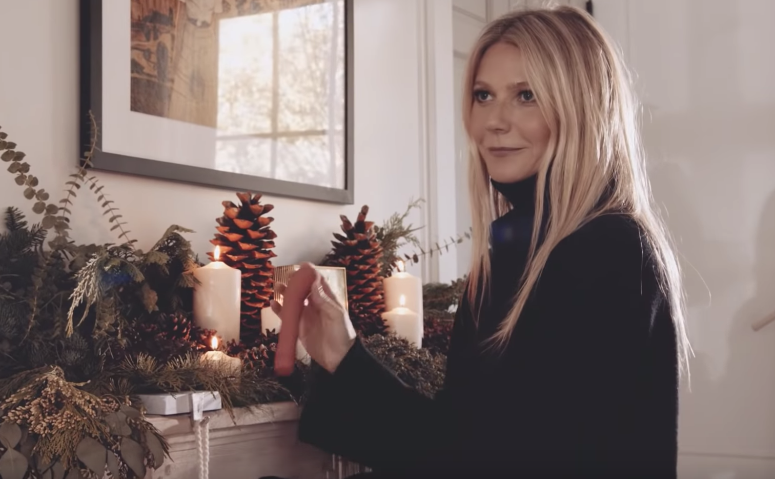 This NSFW Gwyneth Paltrow Holiday Ad For Goop Is Really Weird