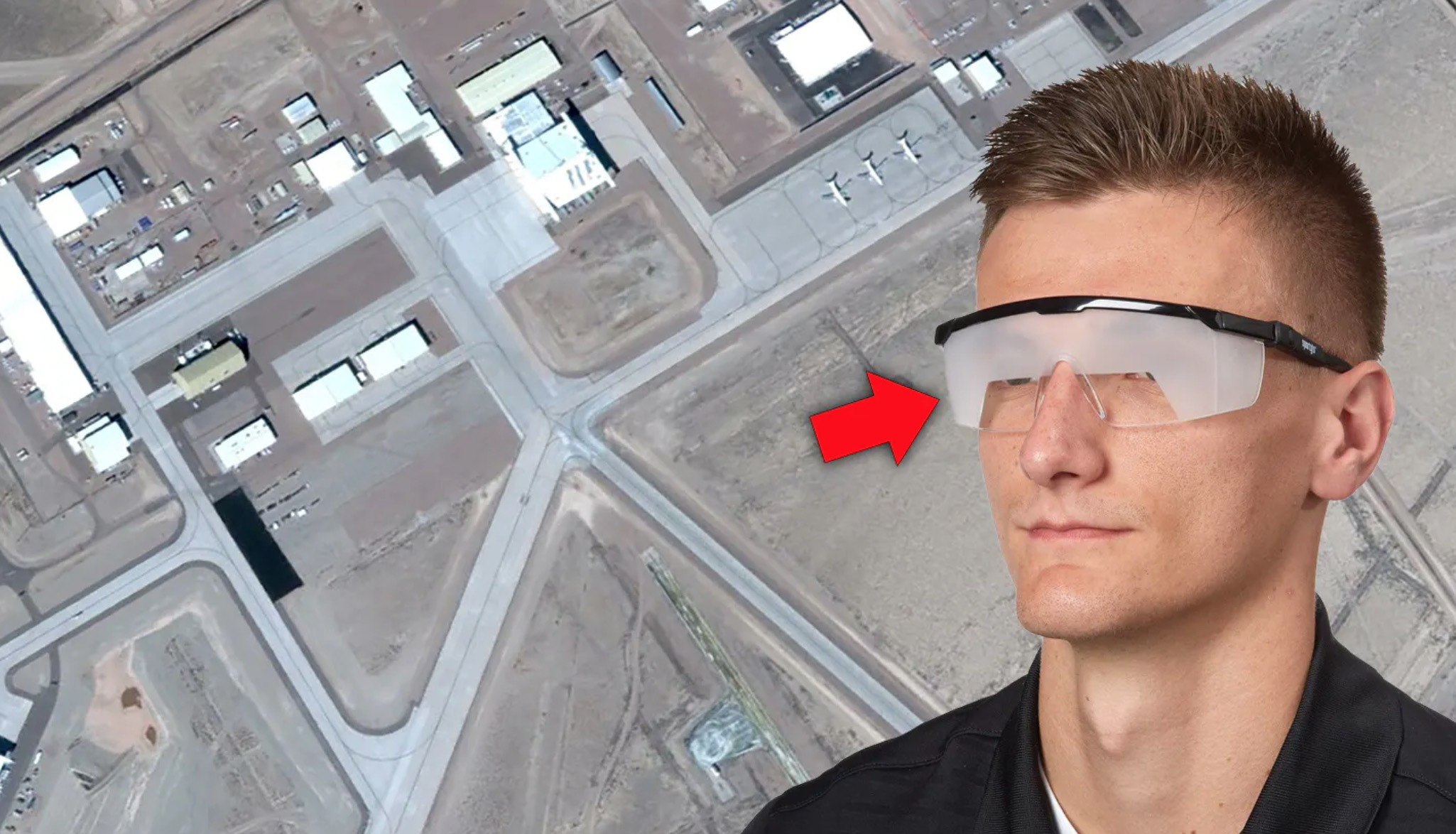 Visitors To Area 51 Have To Wear 'Foggles' That Severely Limit Vision When Moving About