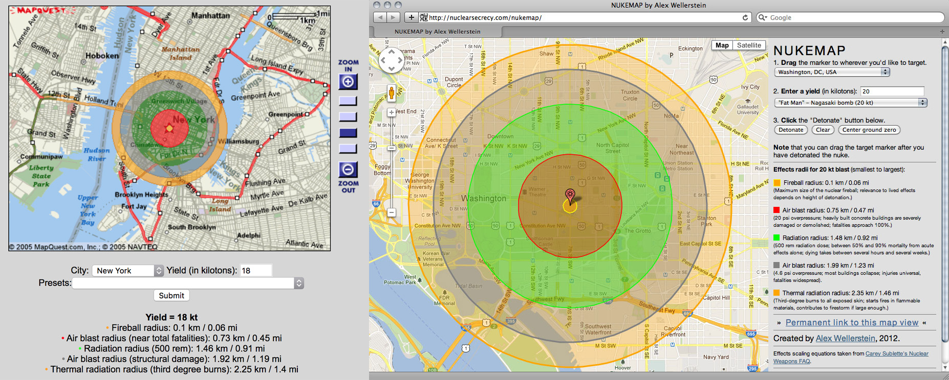 Why NUKEMAP Isn't On Google Maps Anymore