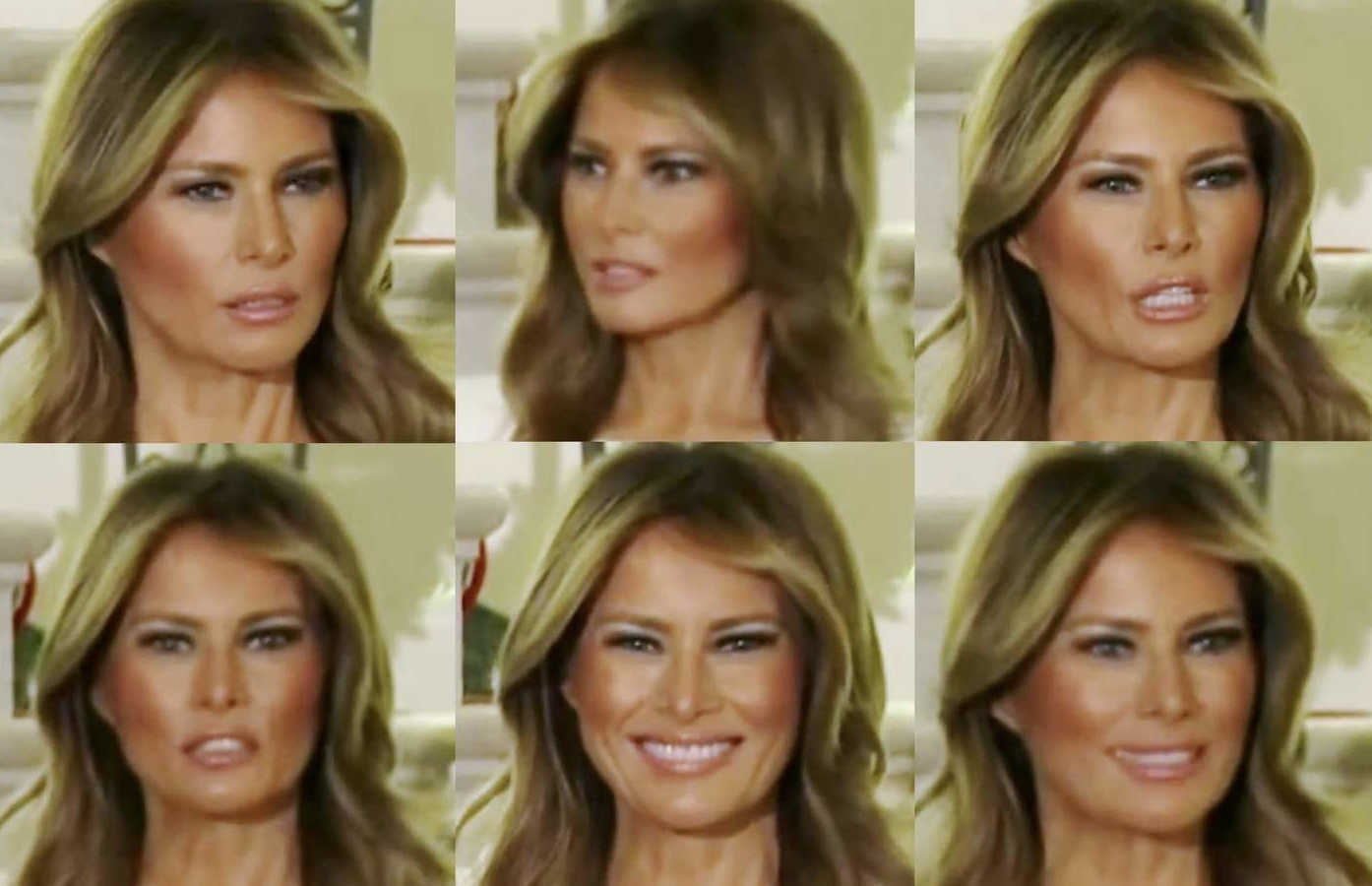 Melania Trump Makes A Series Of Weird Faces At Congressional Ball