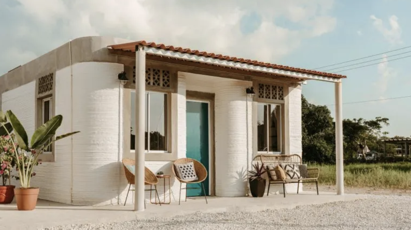 The World's First 3D-Printed Neighborhood Now Has Its First Houses