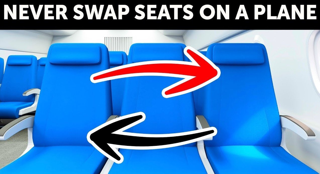 Why Nobody Should Ever Switch Seats On A Plane