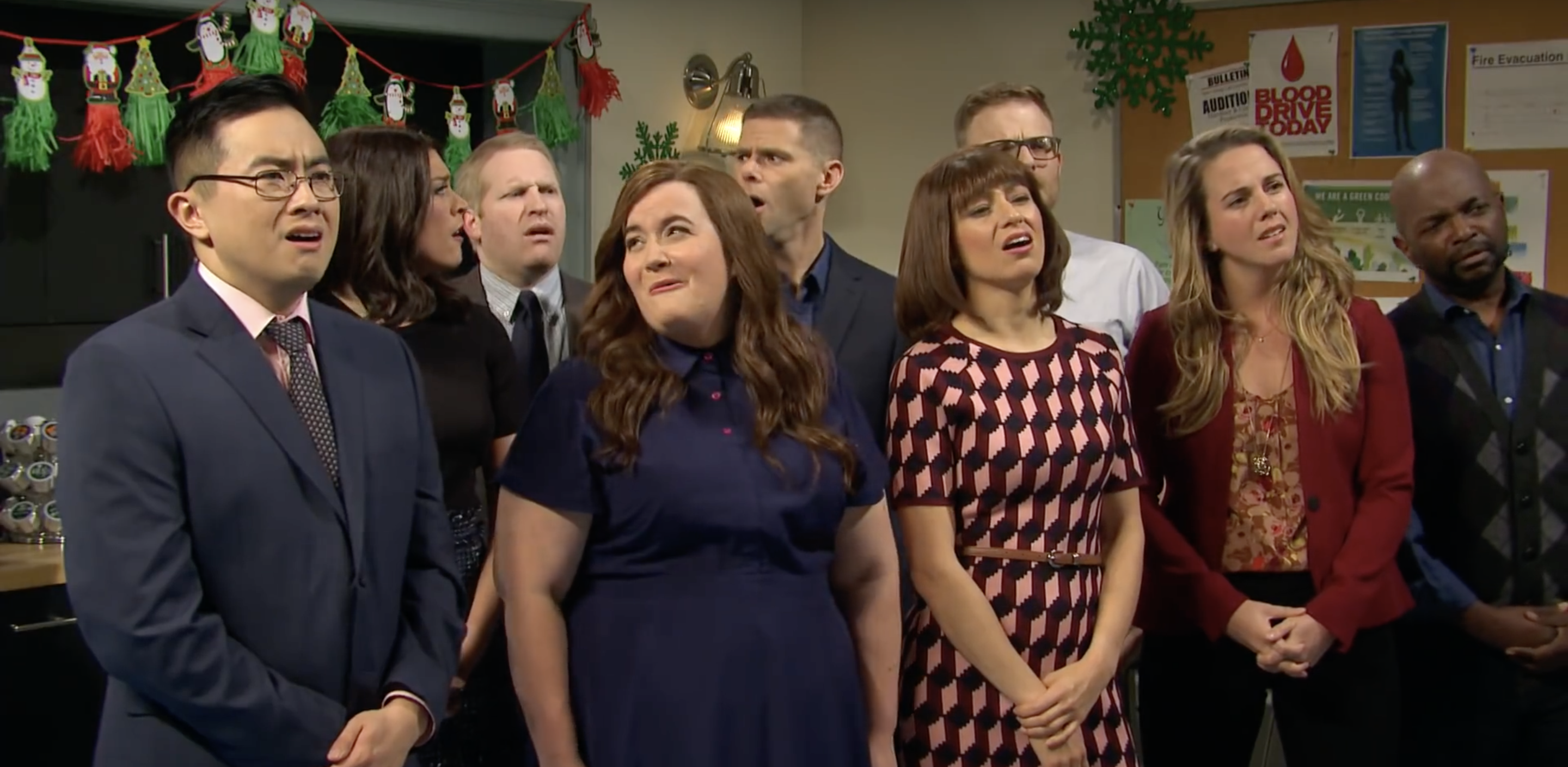 Two Office Employees Are Made To Apologize For Their Transgressions After A Holiday Party, Own Up But Miss...
