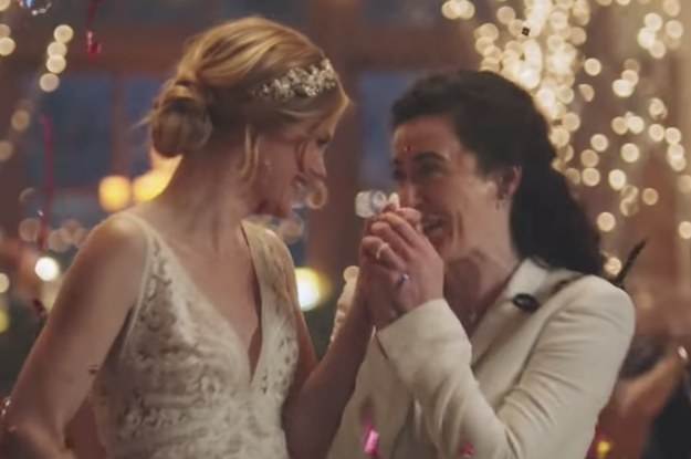 Hallmark Is 'Truly Sorry' For Pulling A Wedding Ad Featuring Two Brides It Initially Said Was Too Controversial