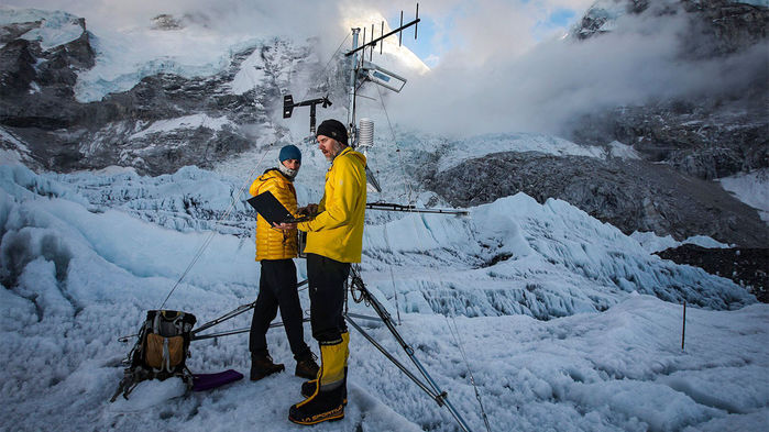 What It's Like To Install A Weather Station At The Top Of The World