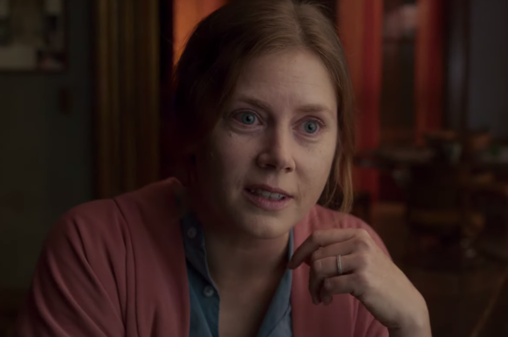 Amy Adams Believes She Saw Her Neighbor Get Murdered In 'The Woman In The Window' Trailer