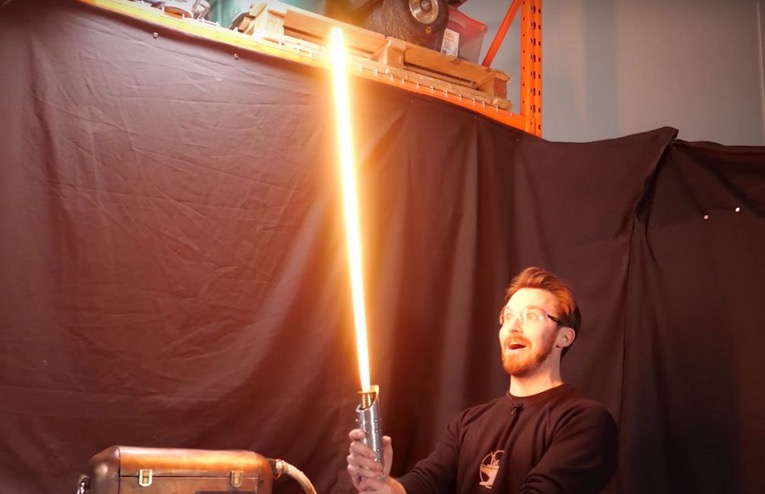 The World's First Protosaber Is Extremely Dangerous And Extremely Fun