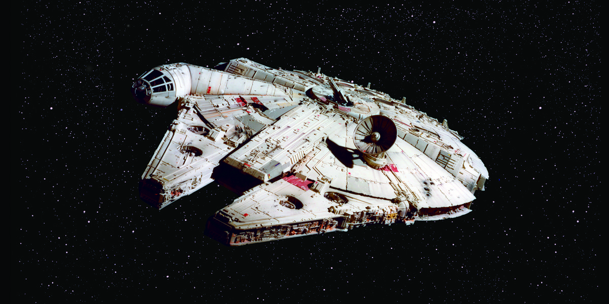 How 'Star Wars' Filmmakers Built The Millennium Falcon