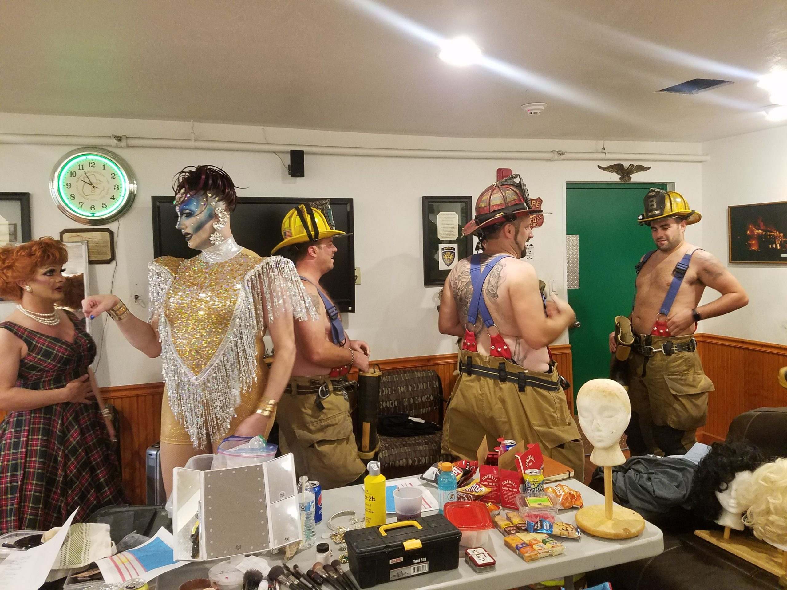 Drag Queens And Volunteer Firefighters Are Teaming Up To Save Rural America