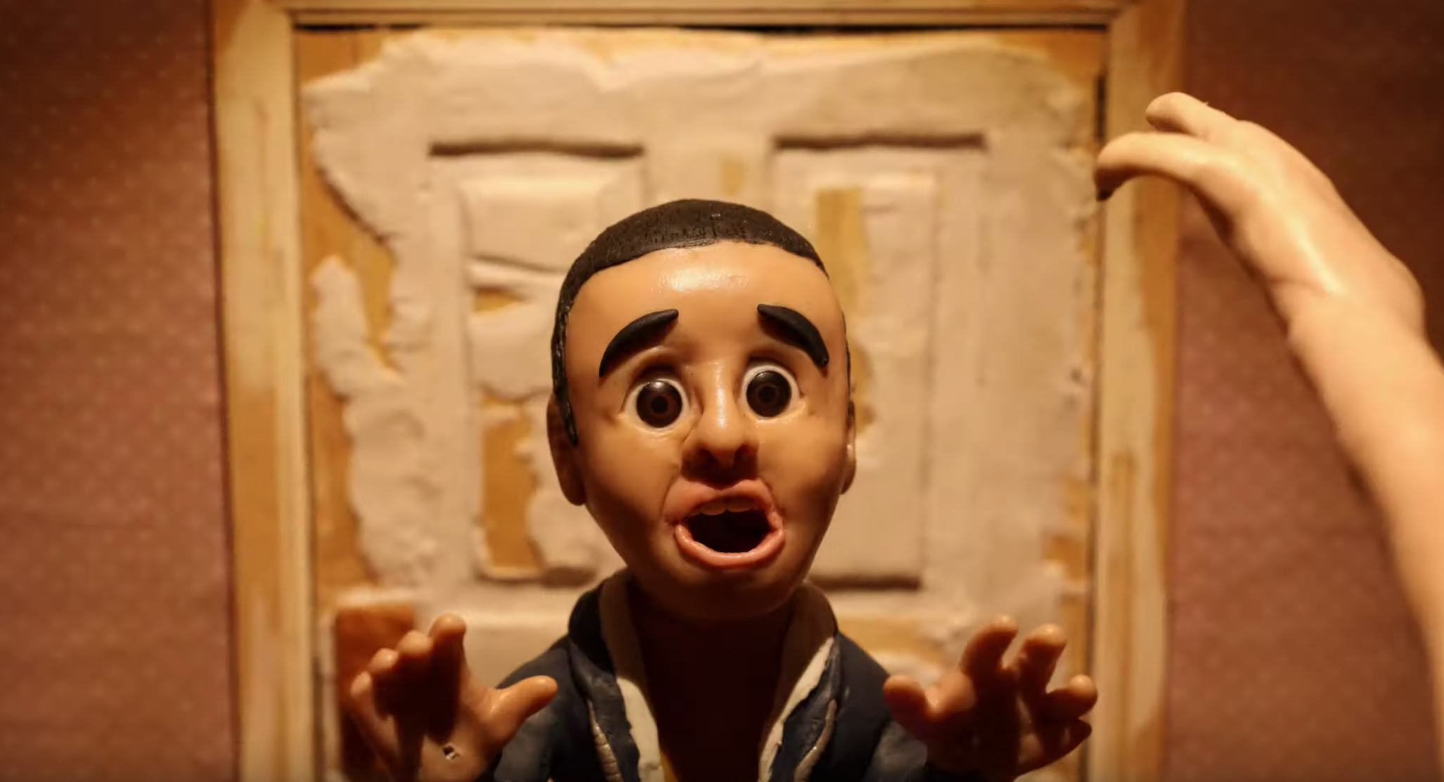 This 40-Second Stop Motion Animation Short Called 'Nightmare' Really Is Pure Nightmare Fuel