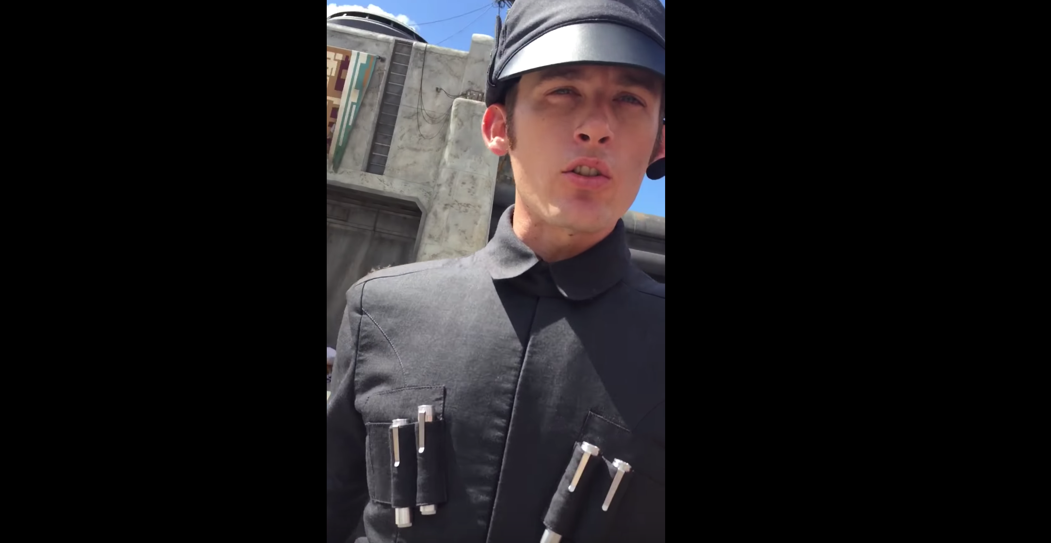 First Order Actor At Disneyland Delivers Bone-Chilling Line Of Intimidation