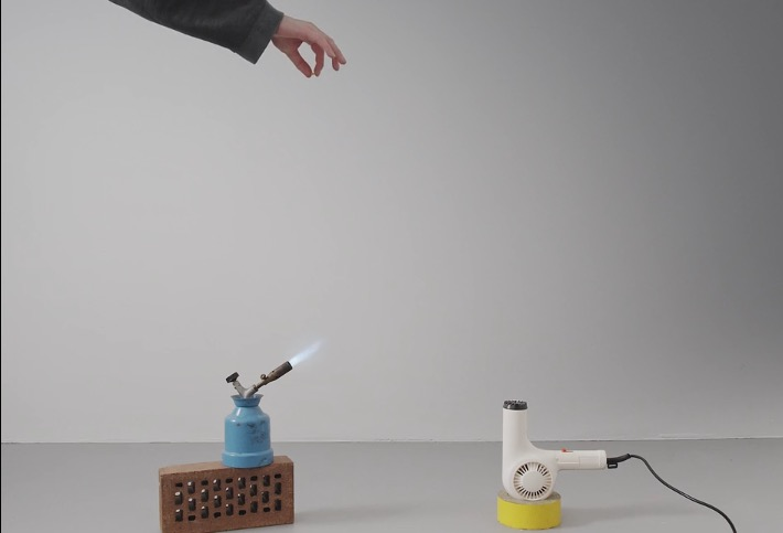Watch This Charming Very Short Film Starring A Blowtorch, A Hair Dryer And A Kernel Of Popcorn