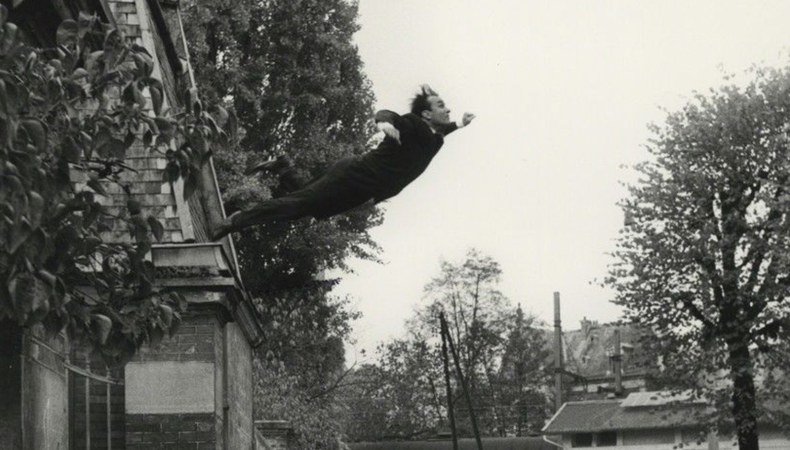 How Yves Klein Tricked the World — And Changed Photography — With This Iconic Photograph