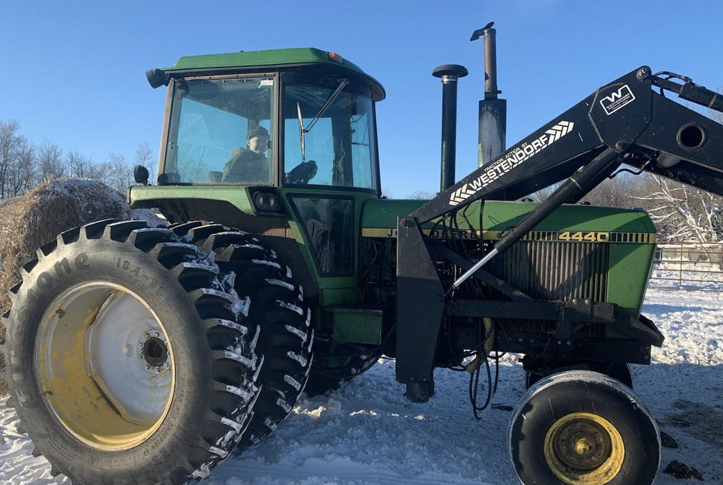 For Tech-Weary Midwest Farmers, 40-Year-Old Tractors Now A Hot Commodity