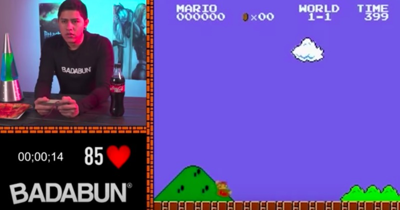Watch This YouTuber Get Called Out For Faking Their 'Super Mario' Speed Run