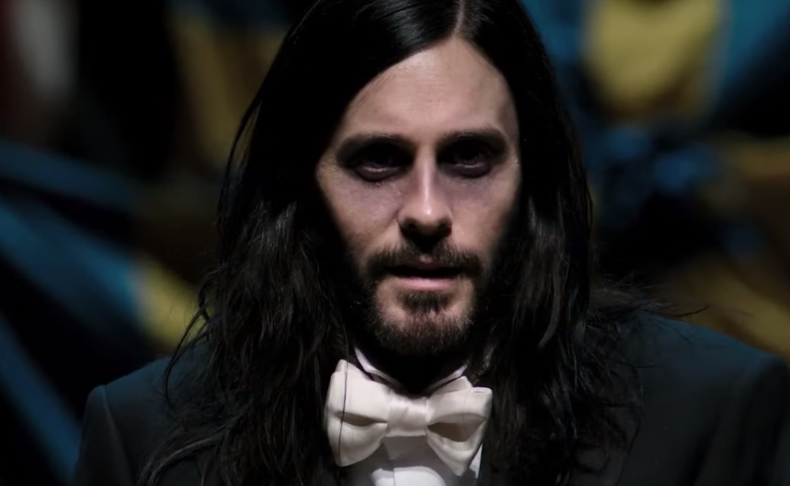 Jared Leto Is Transformed Into A Powerful Vampire In Trailer For MCU Movie 'Morbius'