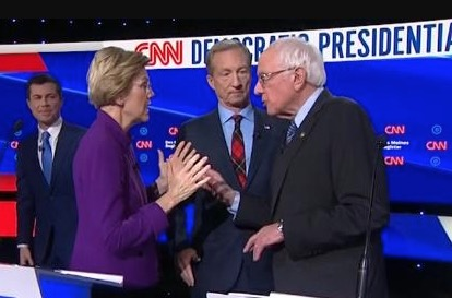Here Are The Highlights From Last Night's Democratic Debate