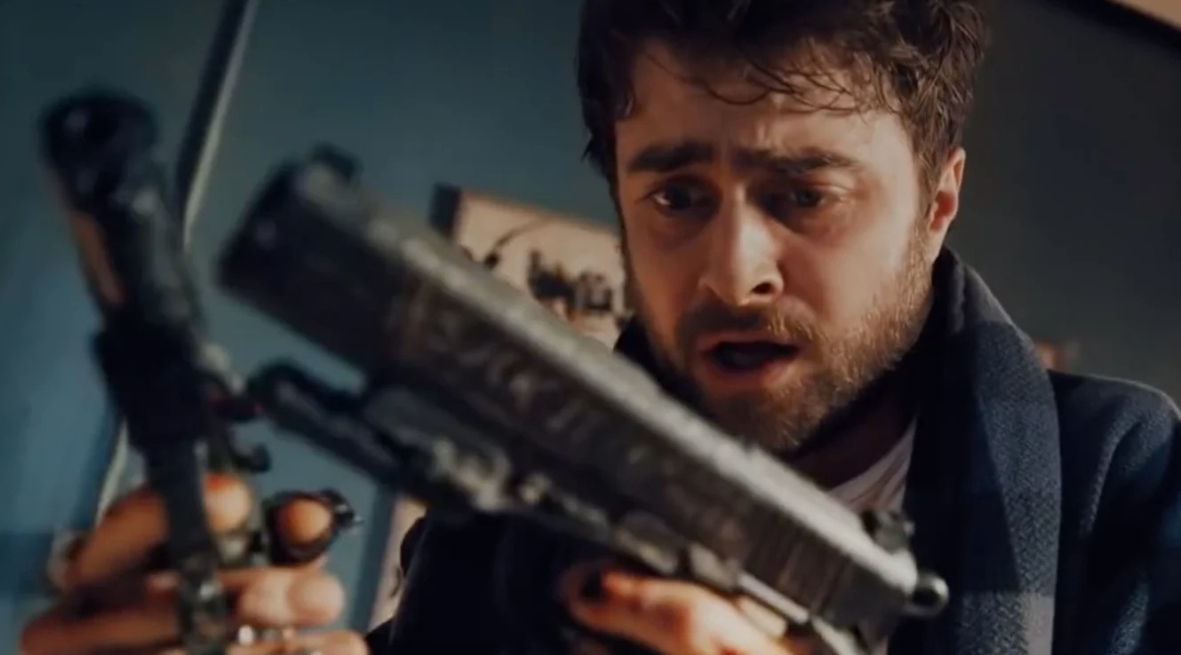 Daniel Radcliffe Gets Guns Bolted To His Hands In 'Guns Akimbo' Trailer