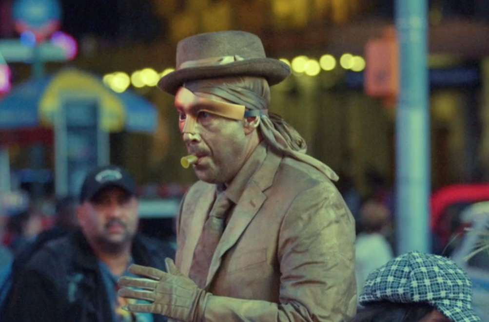 Adam Sandler Stars As A Times Square Street Performer Named Goldman In This Quirky Short Film