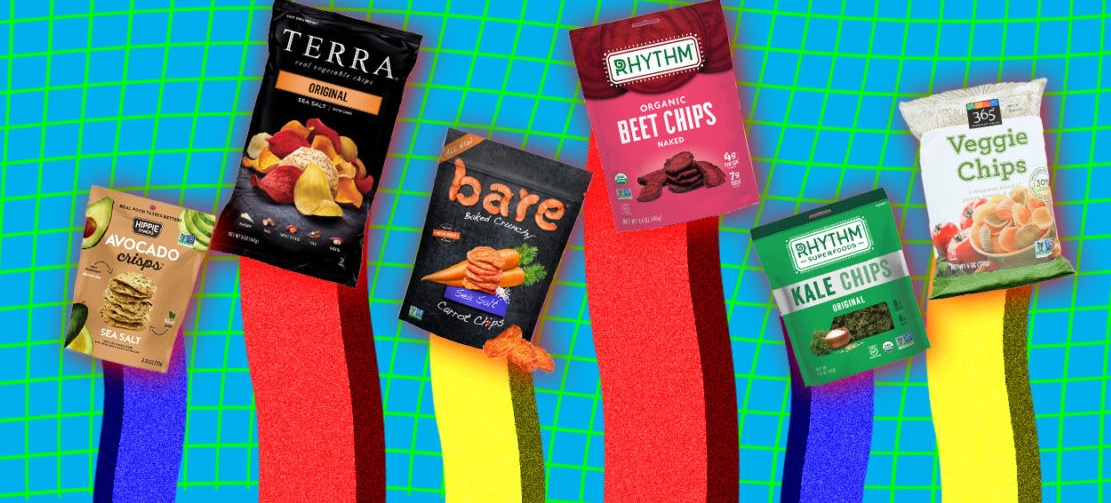 Ranking Veggie Chips By How Healthy They Are