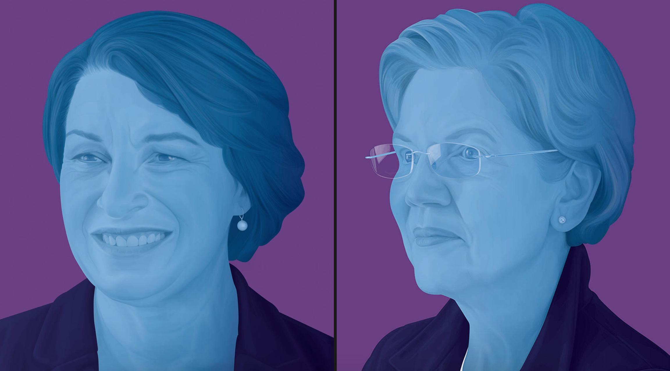 New York Times Endorses Elizabeth Warren And Amy Klobuchar In Democratic Primary
