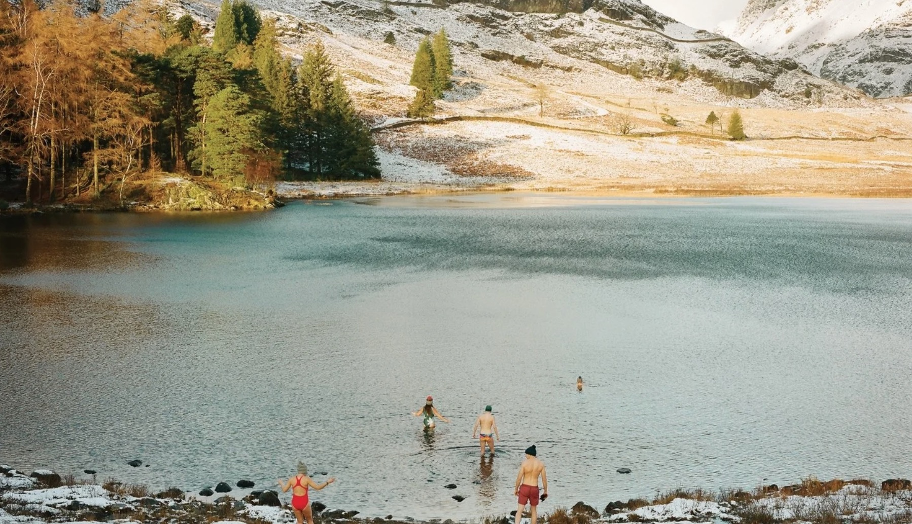 The Subversive Joy Of Cold-Water Swimming