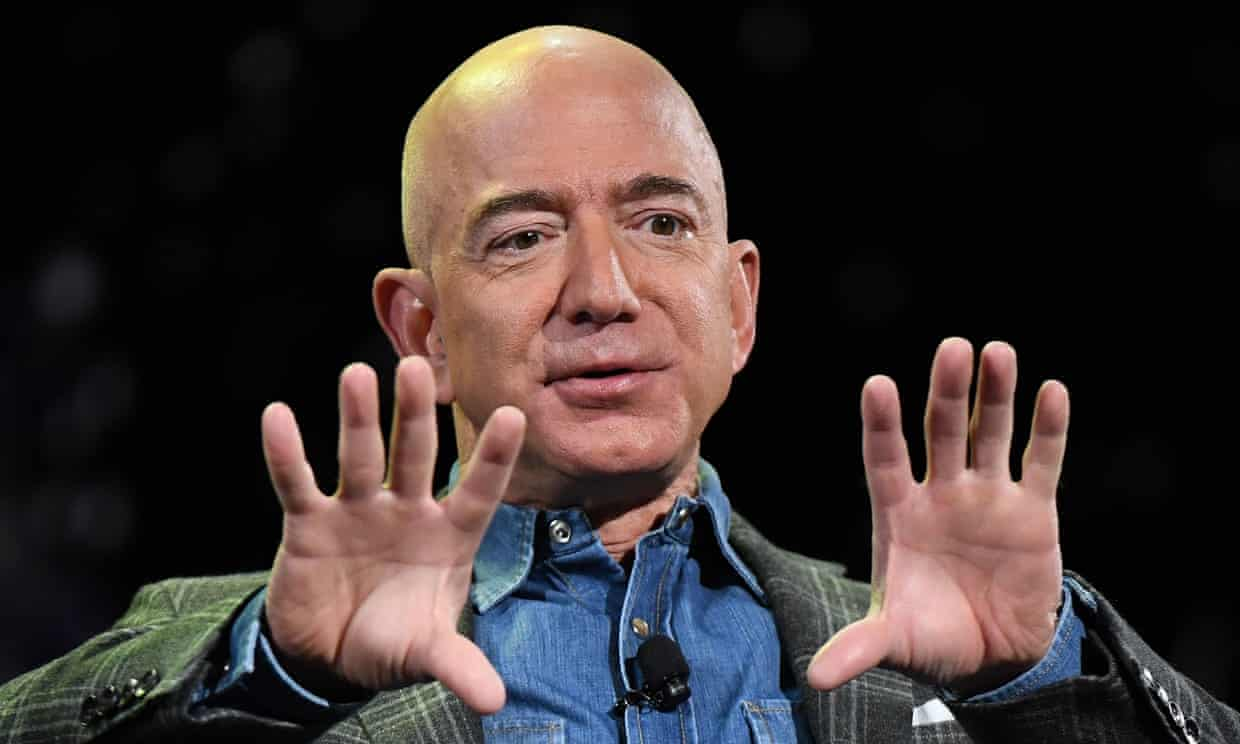 Jeff Bezos's Phone Was Apparently 'Hacked By Saudi Crown Prince'