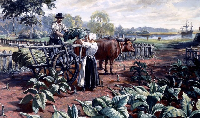 Proof-of-Work In Colonial Maryland: Burning Tobacco For Paper Money, Burning Electricity For $BTC
