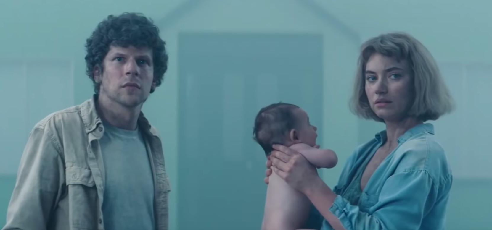 Jesse Eisenberg And Imogen Poots Are Imprisoned In A Neighborhood, Raising A Boy They Do Not Want In The 'Vivarium' Trailer