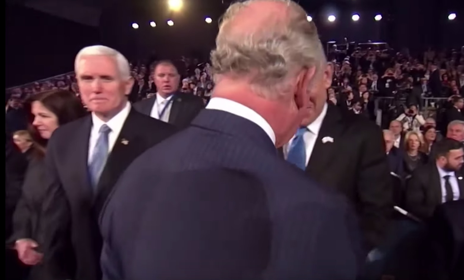 It Sure Looks Like Prince Charles Snubbed Mike Pence — Or Did He?