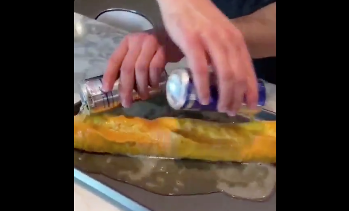 We're Not Sure Whether This Bread Hack Is Genius Or Cruelty To Baguettes