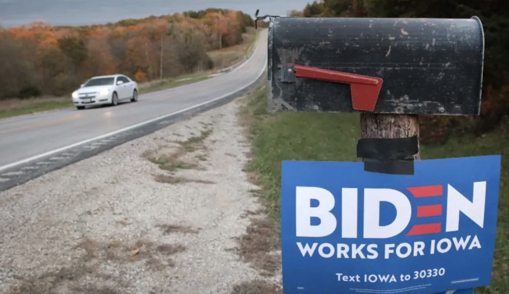 The Biden Campaign Pushed Iowa Staffers To Drive In Dangerous Weather