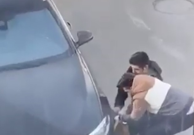 Two Jabronis Attempting To Get A Parking Boot Off Their Car Get Caught In The Act