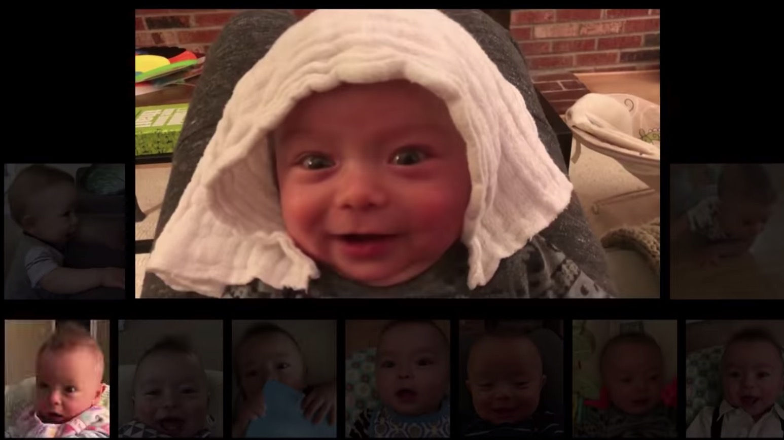 Dad Records His Baby's Coos For A Year, Syncs Them To AC/DC's 'Thunderstruck' And It's Brilliant