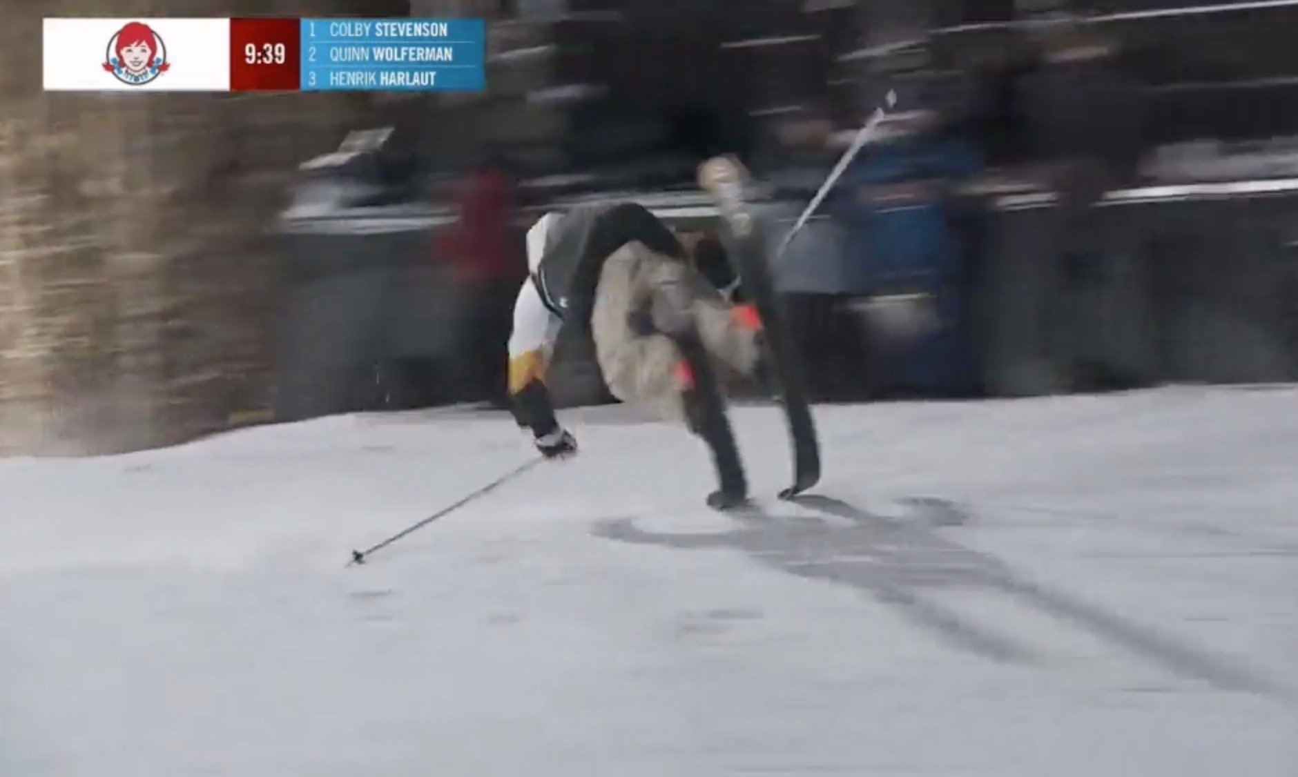 This Insane Ski Trick Doesn't Even Look Real