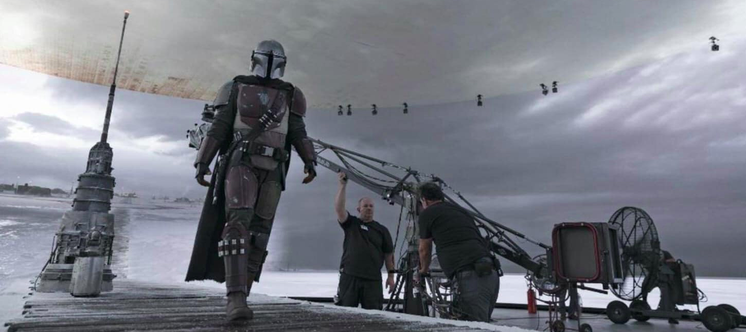 'The Mandalorian' Set Photos Reveal Seamless 'Stagecraft' Technology At Work