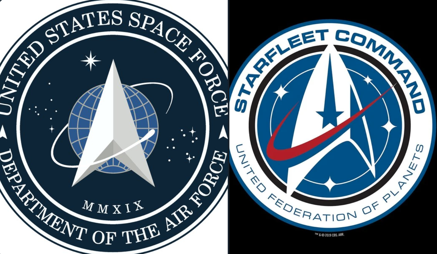 The US Space Force Just Unveiled Its New Logo, And, Um, There Is Something Oddly Familiar About It