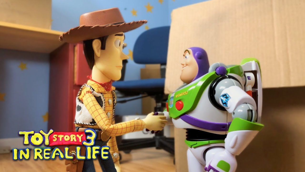 This Shot-For-Shot Recreation Of 'Toy Story 3' From Two Teenagers Using Real Toys Is Incredible