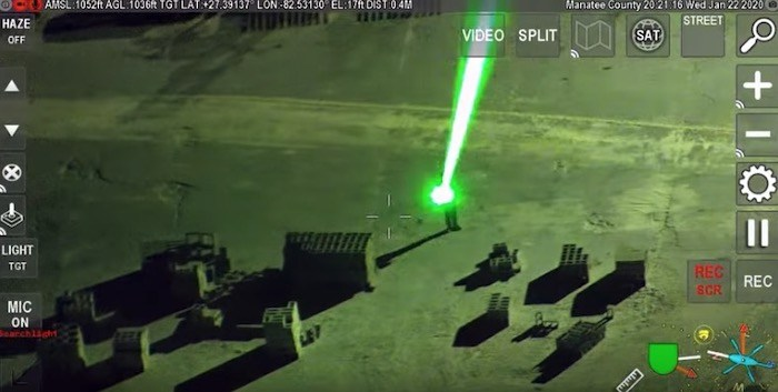Man Caught Shining Laser Pointer And, Um, Throwing Rocks At Police Helicopter