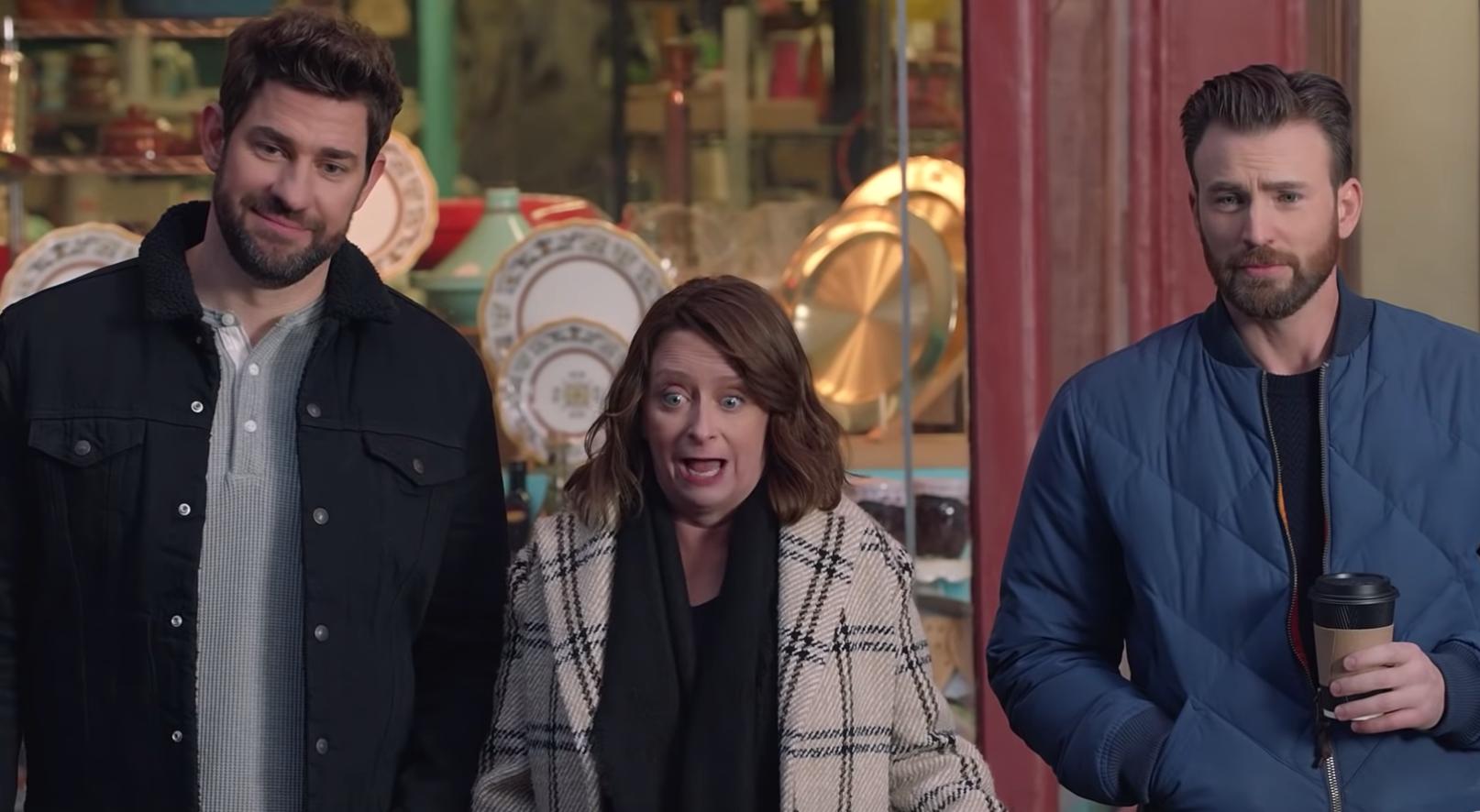 Chris Evans And John Krasinski Go Full Bostonian In Hyundai's Wicked Funny Super Bowl Commercial