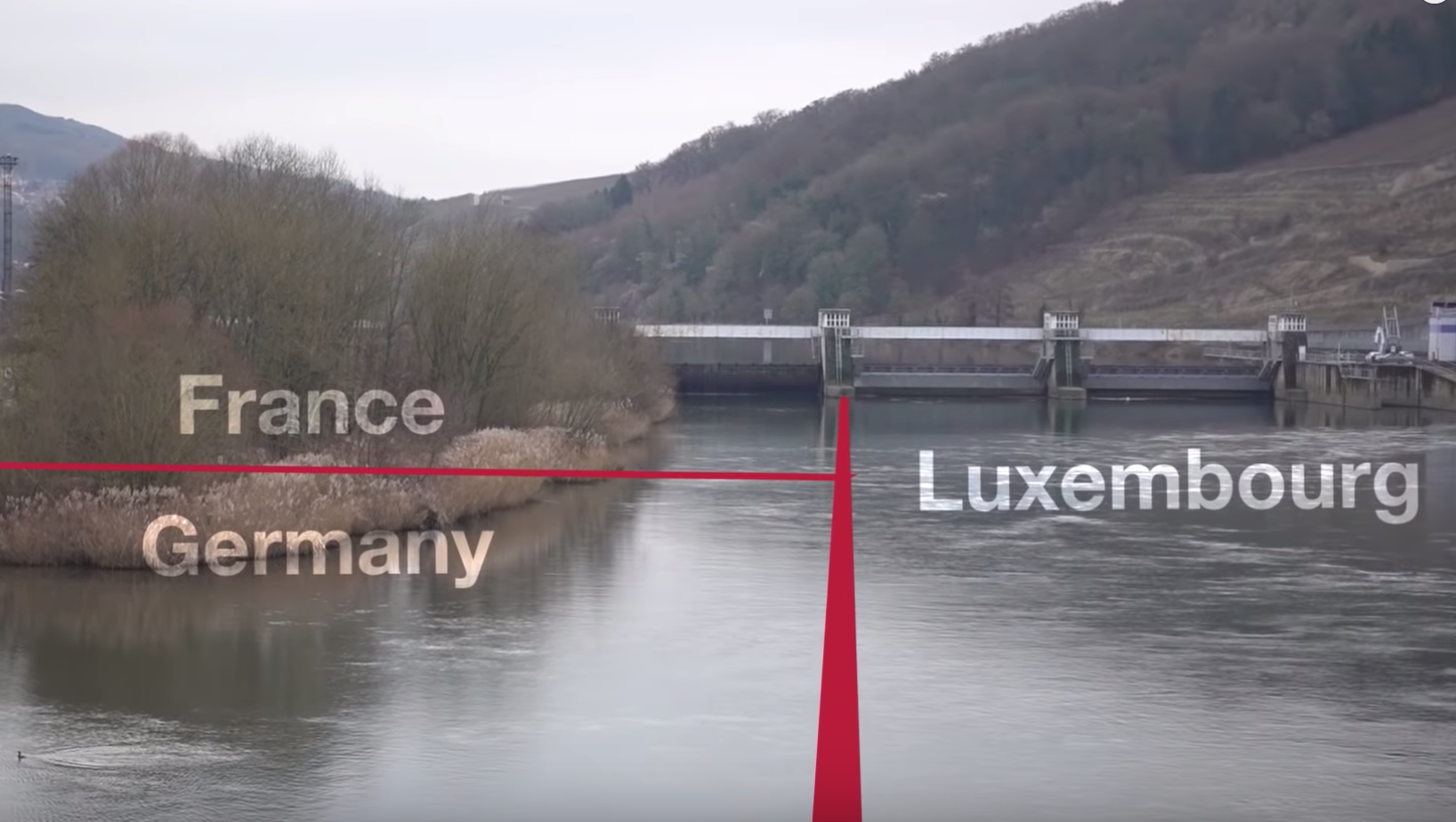 The Curious Case Of The Bridge That's In Two Countries At The Same Time