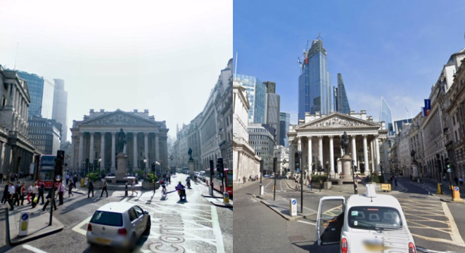 A Decade Of London In Google Street View
