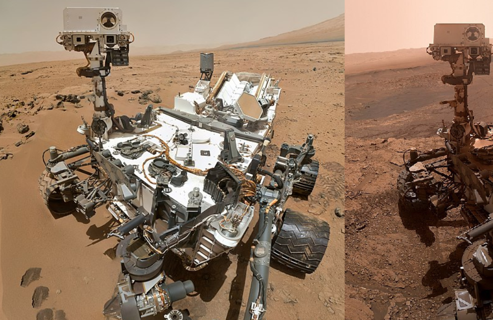 It's Been Over Seven Years Since The Curiosity Rover Landed On Mars. Here's An Image That Shows How Much The Rover Has Changed - Digg