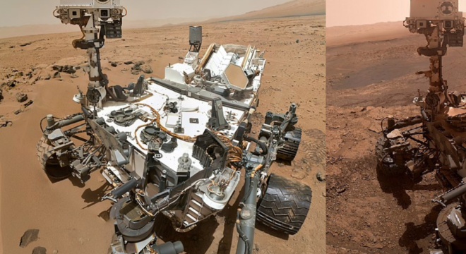It's Been Over Seven Years Since The Curiosity Rover Landed On Mars. Here's An Image That Shows How Much The Rover Has Changed