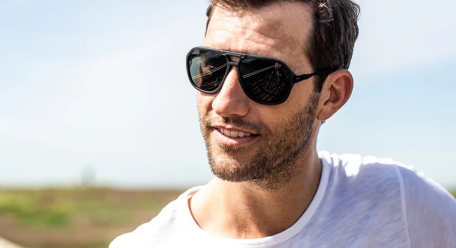 These Sunglasses Won't Slide Down Your Nose