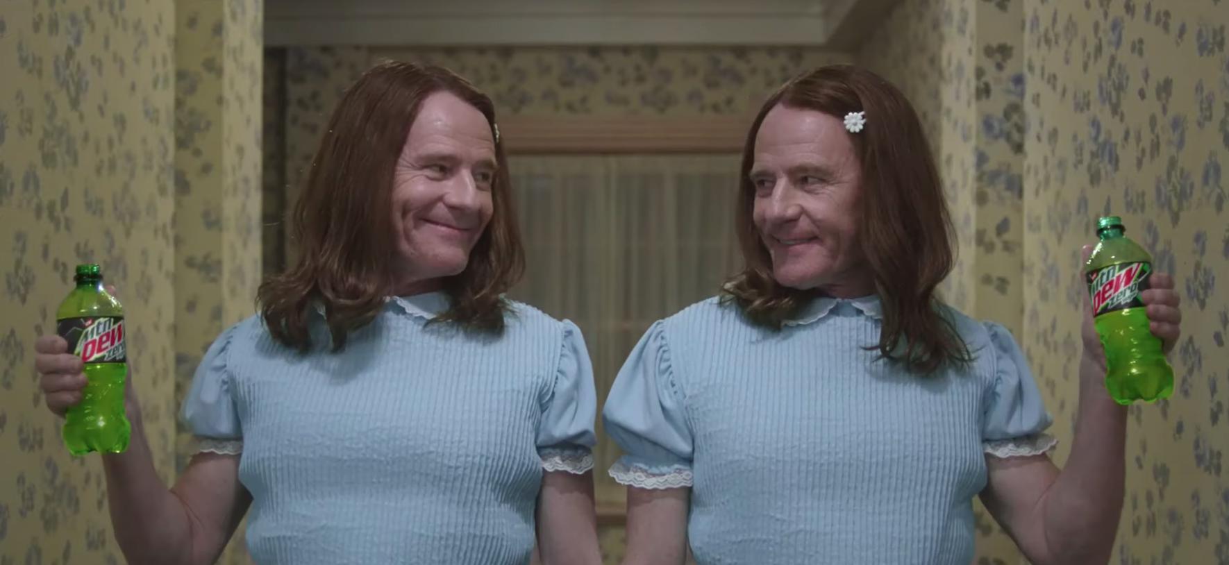 Bryan Cranston Recreates 'The Shining' In Super Bowl Ad Creepier Than The Original Stanley Kubrick Movie