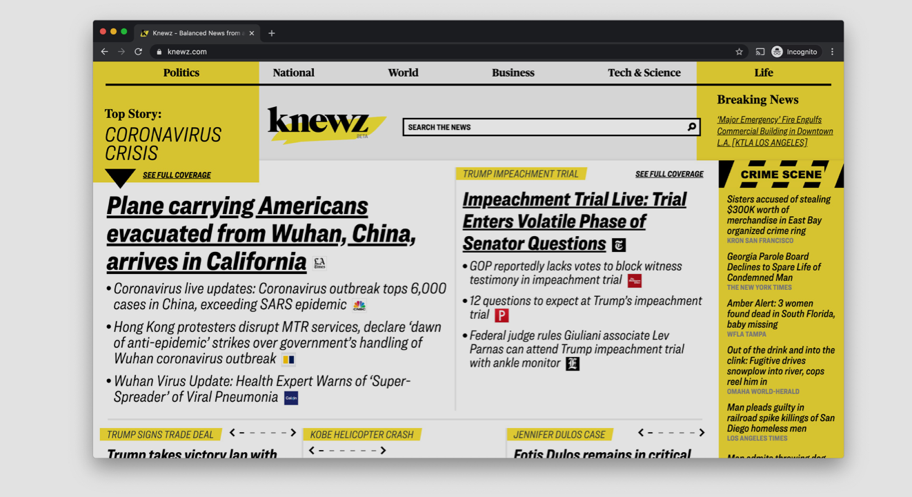 News Corp Unveils Its News Aggregator Knewz, And Oh Man Is It Ugly